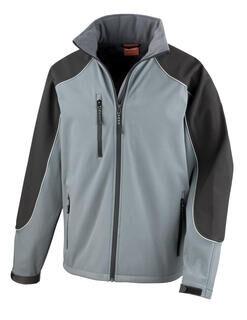 Ice Fell Hooded Softshell Jacket 3. pilt