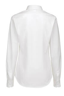 Ladies` Sharp Twill Long Sleeve Shirt