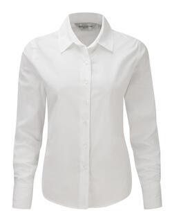 Ladies` Classic Twill Shirt LS