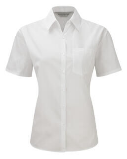 Short Sleeve Poplin Blouse