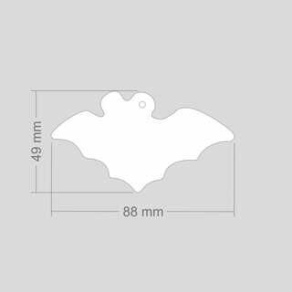 Helkur nahkhiir 88x49mm