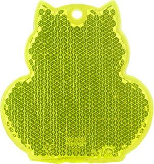 Helkur kass 57x59mm kollane