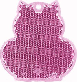 Helkur kass 57x59mm roosa